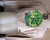 Steampunk Crop Gear Embroidered Jacket