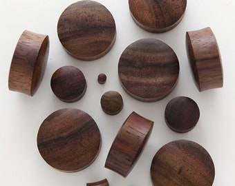 Pair of Brown Sono Plugs