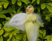 Needle felted Fairy, Waldorf Inspired, Spring