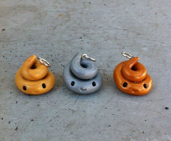 Olympic Poo Charm Set