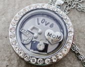 Silver Floating Locket Li...