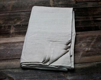 LINEN FLAT SHEET - natural flat sheet - queen linen sheet - king linen sheet - upper linen sheet - linen bottom sheet - linen bed sheets