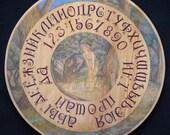 "FREE SHIPPING Ouija board  - Spiritistic board - Talking board ""Midsummer Eve"""