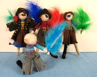 Pirates Ahoy Storybook Doll Set
