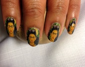 Nail Decals  Frida Kahlo MARIPOSA BUTTERFLY