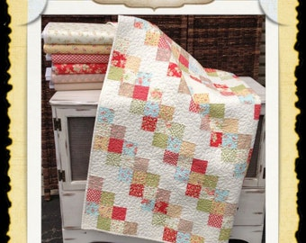 Avalon Rose PDF quilt pattern