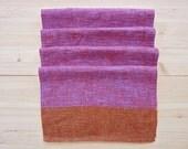 Set of 4 Dansk Linen Table Napkins