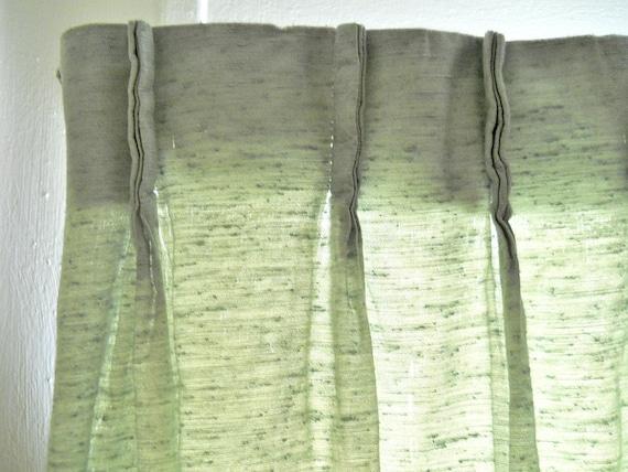 Sage Green Curtains Mid Century Drapes Mid Century Curtains