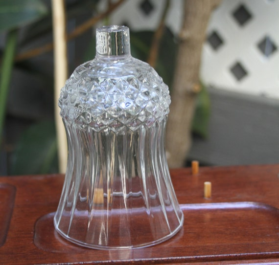 Glass Peg Votive Candle Holder Sconce Candelabra Diamond