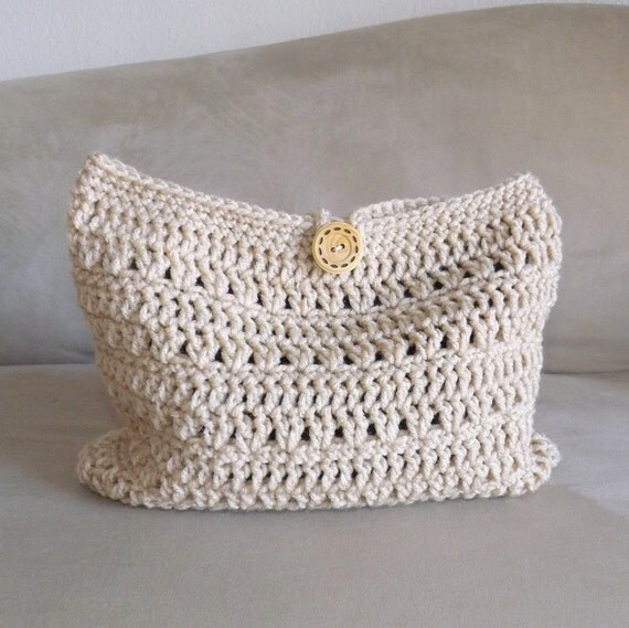 Crochet Mini Bag : Crochet make up bag, crochet cosmetic bag, crochet mini bag, crochet ...