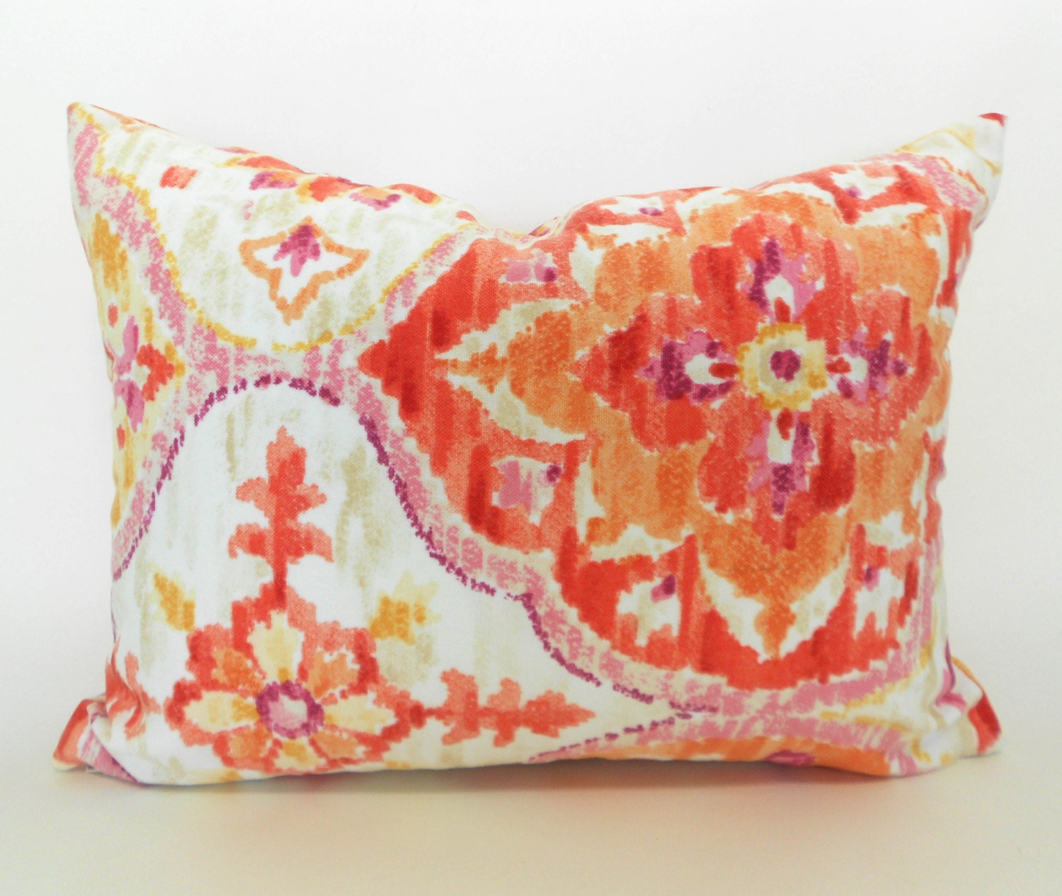 Outdoor Lumbar Pillow Cover Decorative Pillows Orange Pillow