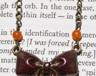 Mini Bow Necklace 1 (more colors)