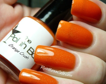 Orange Crush Full Size Nail Polish