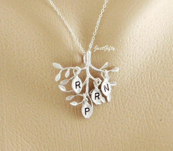 Family Monogram Necklace