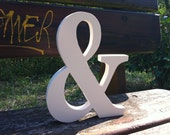 Letter or wooden sign XL 2.0 custom Ampersand