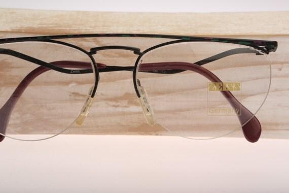 Zeiss Eyeglass Frame : Zeiss 6917 / Vintage eyeglasses / NOS / 80s designer ...