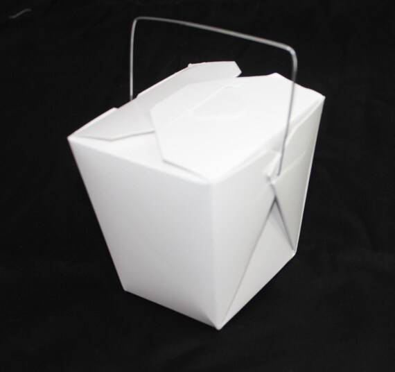 Party Favor Chinese Take Out Boxes : Clearance large white chinese take out boxes for party