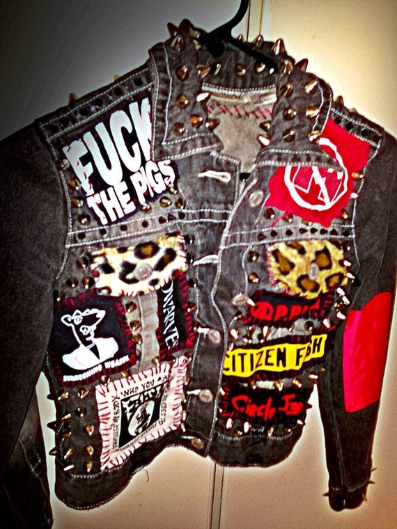 Punk rock jacket