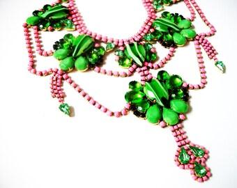 M O L L Y Neon Pink Jewelry