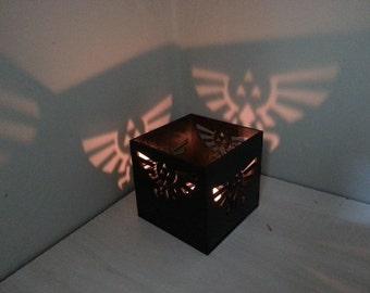 Zelda Triforce lantern