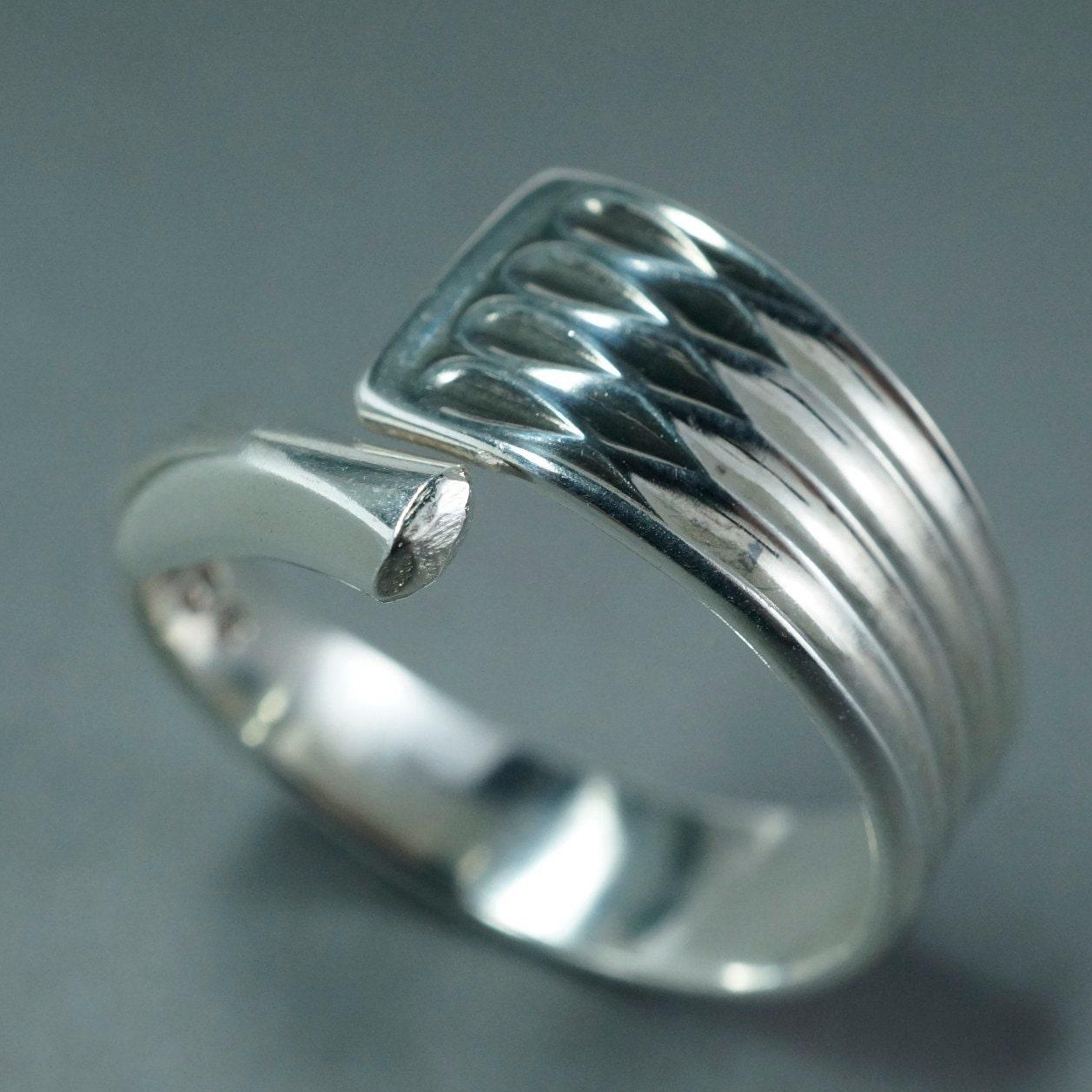 spoon jewellery silver spoon ring sterling silver spoon