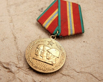 Vintage Soviet Medal - f32