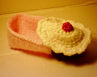 Toddler Cupcake Slippers