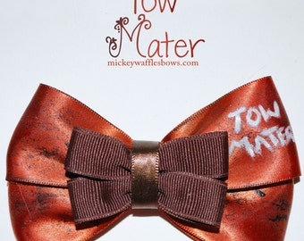 Tow Mater Hair Bow