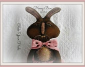 primitive rabbit pattern(Honey Bun) click your heels