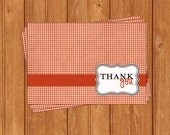 Fishing Thank You Cards-BSI199TY Printable PDF Instant Download