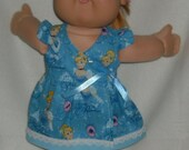 "Doll  Clothes 16""  Cabbage Patch  Play Along, Similar size Disney CINDERELLA  Secret Princess  Wrap Around Dress with  Socks"