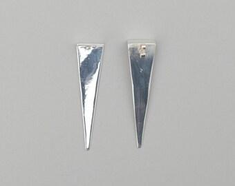 Blunt Ledge Earrings