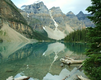 Moraine Lake // Nature Art // Canadian Rockies // Alberta // Canada // Home Office Spa Yoga decor // photography