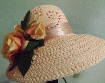 Just Peachie. A Derby hat with taste.