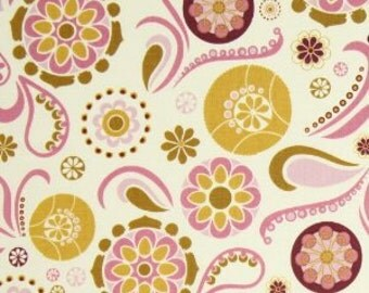 Riley Blake Fabric by the yard -So Sophie - Cream Main