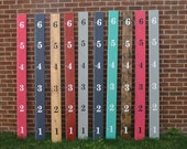Wooden Ruler Growth Chart- ready to hang