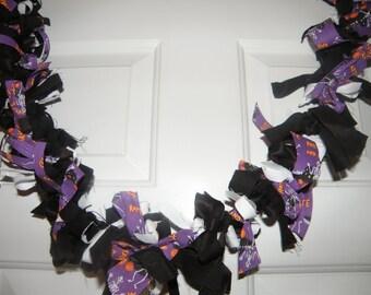 Halloween Swag Garland Banner