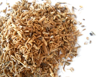 Organic VALERIAN ROOT - Valeriana Officinalis - Strong, Pungent Scent - Cat Favorite