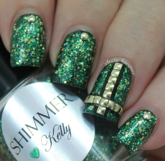 Shimmer Nail Polish - Kelly