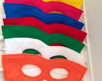 Super Hero Mask Party Pack Set of 15