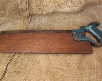 Antique Warranted Superior Mitre Saw