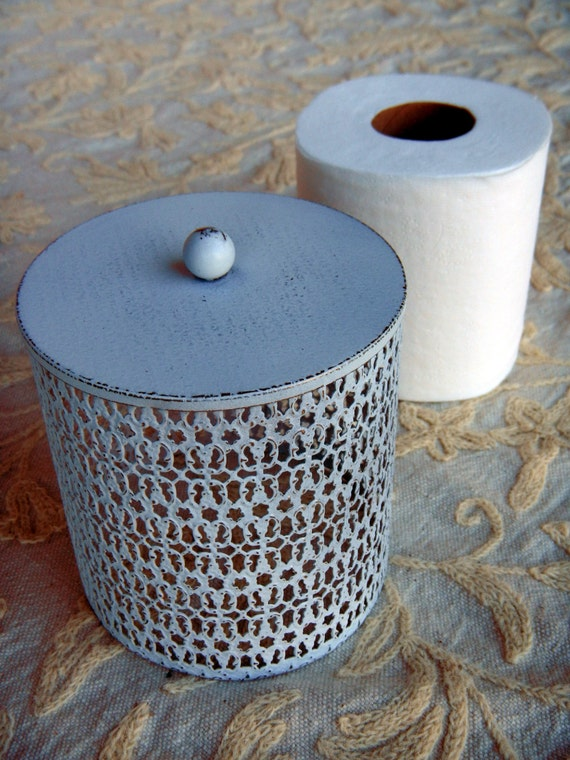 Filigree Tp Cover Toilet Paper Holder By Reconstructedhome