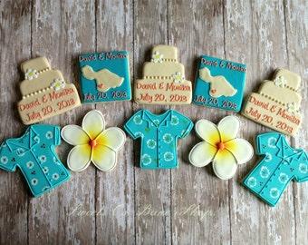 Hawaiian Wedding Cookies