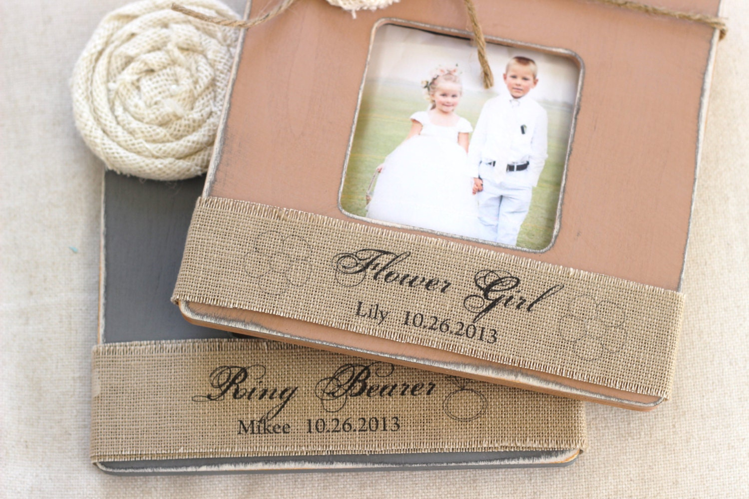 Wedding Gifts For Ring Bearer : Thank You Gift Flower Girl Ring Bearer Wedding by CrystalCoveDS