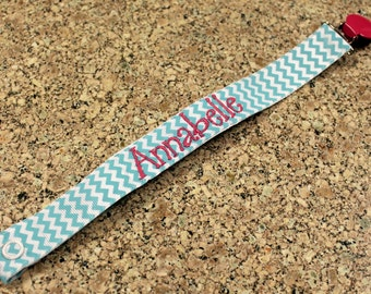 Personalized Paci Clip