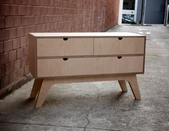 Dressing table sideboard with soft closings by woodbeast
