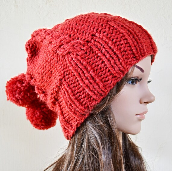 Pom Pom Beanie Knitting Pattern : 301 Moved Permanently