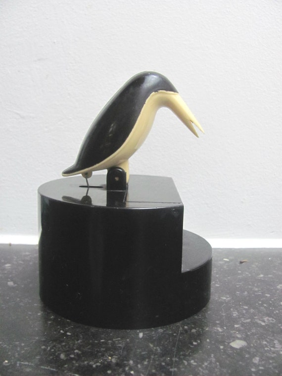 Vintage plastic bakelite toothpick holder by casademiamia on etsy - Toothpick holder for purse ...