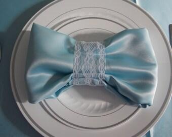 10 Lace napkin holder