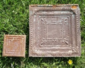 "Three 12"" Tin Tiles"
